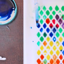 Easy Art for Kids: Styrofoam Patterns