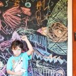 Easy Art Activities for Kids: WASHABLE GRAFFITI