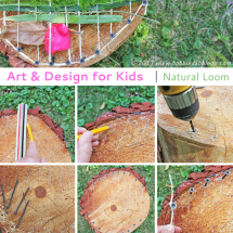 Art and Design for Kids: Natural Loom