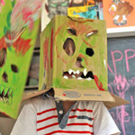 Thumbnail image for Last Minute Halloween Costumes: BOX MONSTERS