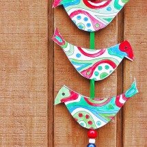 Simple Christmas Craft Ideas: Holiday Bell Tota