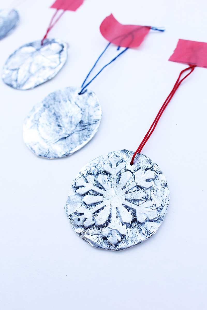 Homemade Christmas Ornaments For Toddlers : Homemade christmas ornaments minute embossed