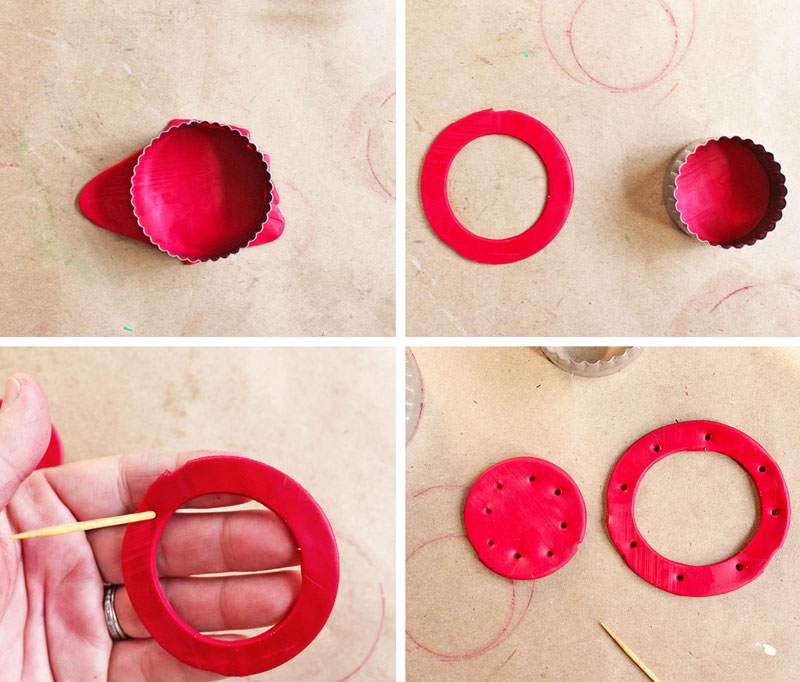 Homemade Christmas Ornaments with Polymer Clay - Babble Dabble Do