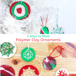 Homemade Christmas Ornaments with Polymer Clay