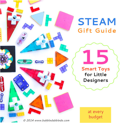 2014 STEAM Gift Guide: 15 Smart Toys for Little Designers