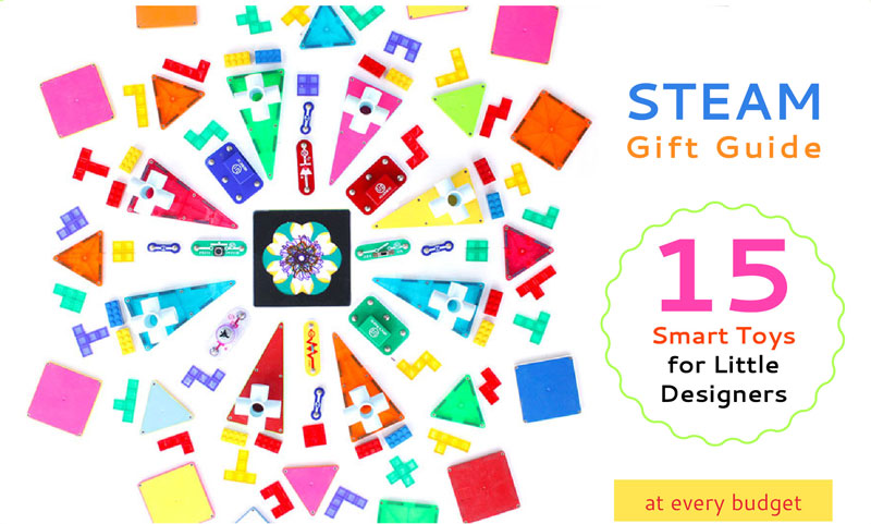 2014 STEAM Gift Guide: 15 Smart Toys for Little Designers
