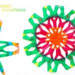 Make a Psychedelic Snowflake