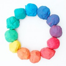 How to Make Playdough | Rainbow Playdough Color Wheel