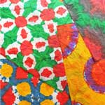 Thumbnail image for DIY Gift Wrapping Ideas: Tie Dye Gift Wrap
