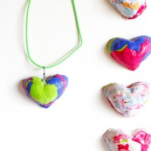 Paper Crafts: Paper Pulp Pendants
