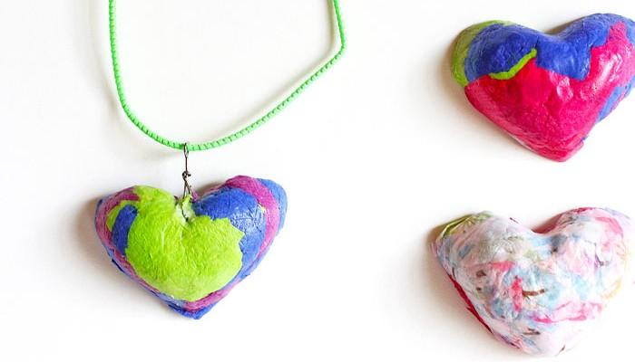 Paper Crafts: Paper Pulp Pendants