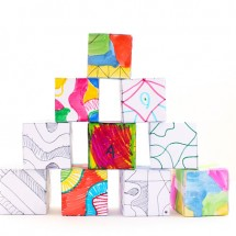 Drawing Ideas for Kids: Doodle Cubes