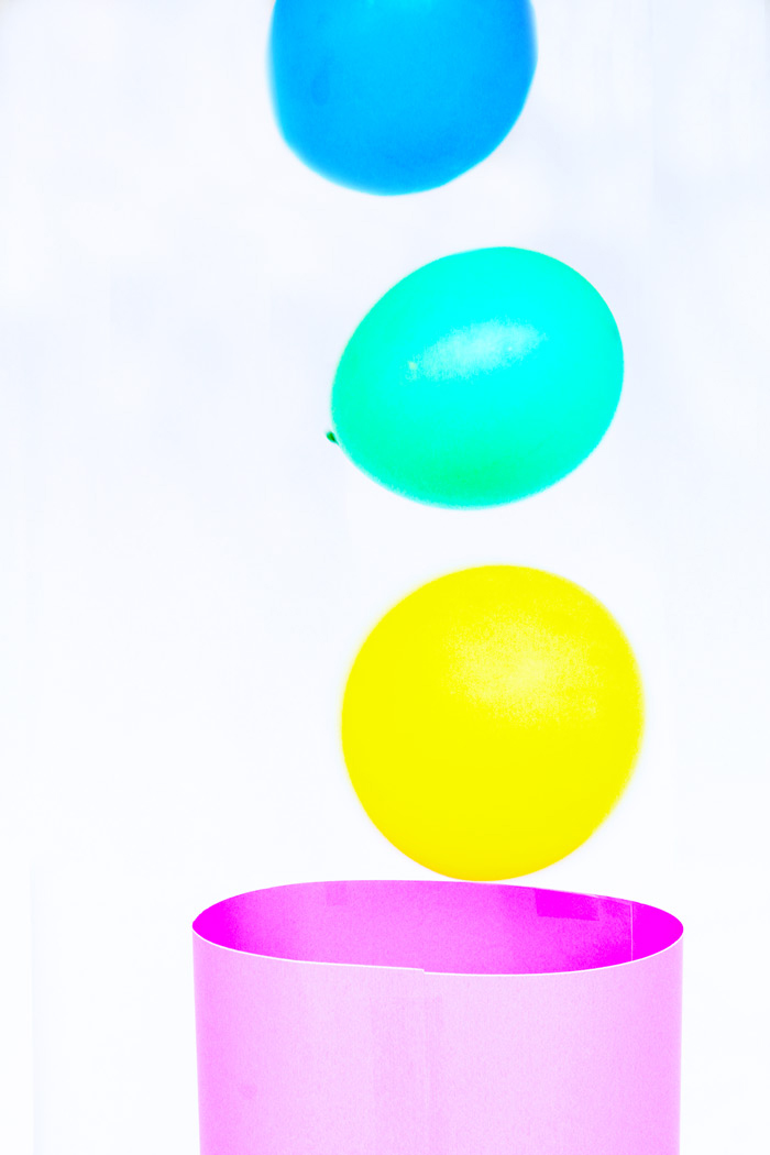 "Simple STEAM activity: Watch balloons dance in a vortex of air. How many balloons can you get to ""dance"" at once?"