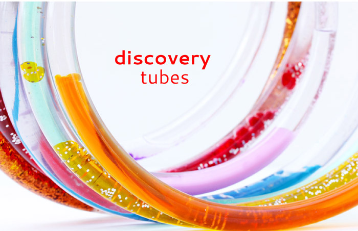 Science Project Idea: Make Discovery Tubes and explore three different scientific concepts in one colorful DIY toy!
