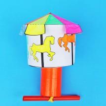 DIY Toy: Make a Kinetic Carousel