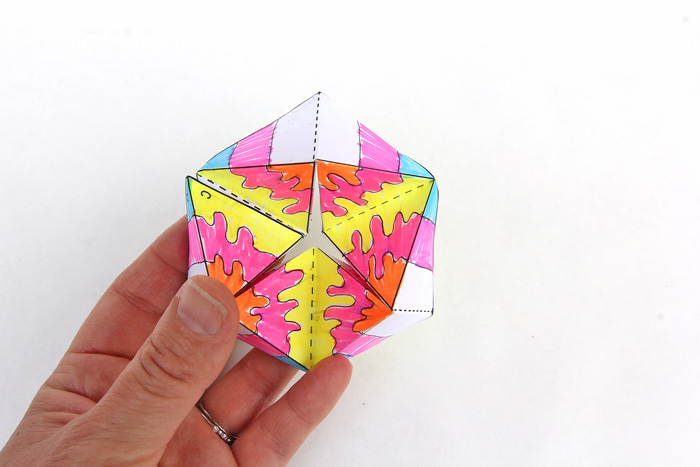 Paper Toy: Flextangles - Babble Dabble Do