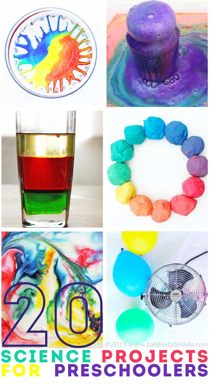 science projects for preschoolers 20 science projects for preschoolers older kids will love them too