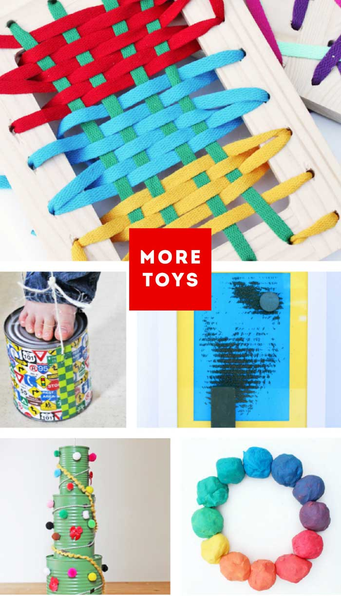25+ DIY Toys you can make at home!