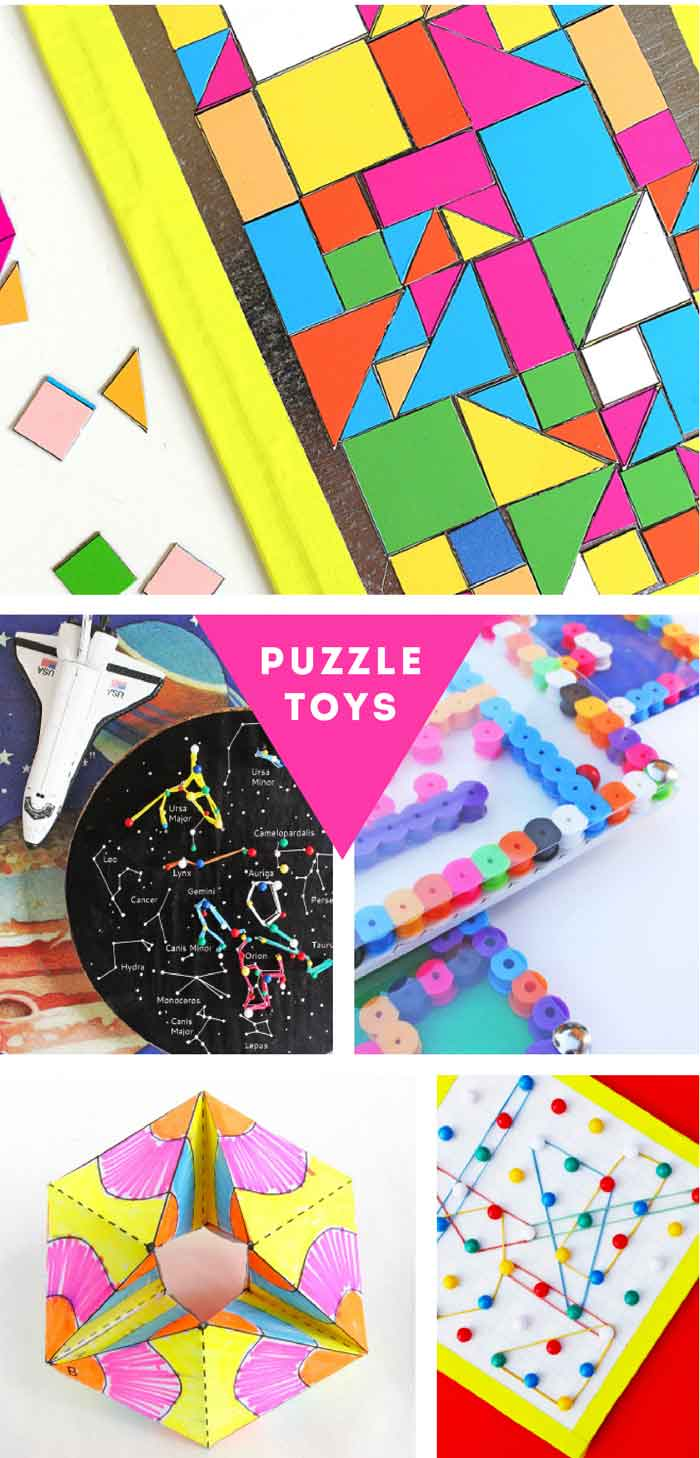 40 Of The Best DIY Toys To Make With Kids!