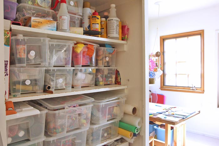 Tour Our Home Art Studio And Get Ideas For Creating An Art Room For Kids