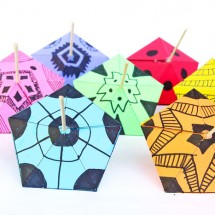 Simple Paper Toys: Paper Tops