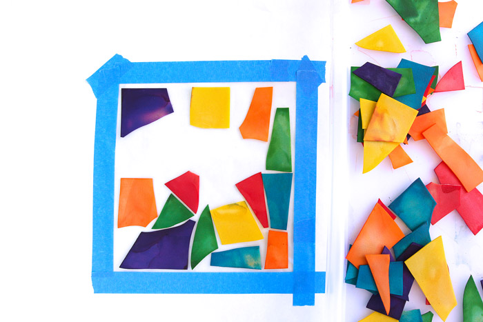 Pasta Crafts Stained Glass Pasta Babble Dabble Do