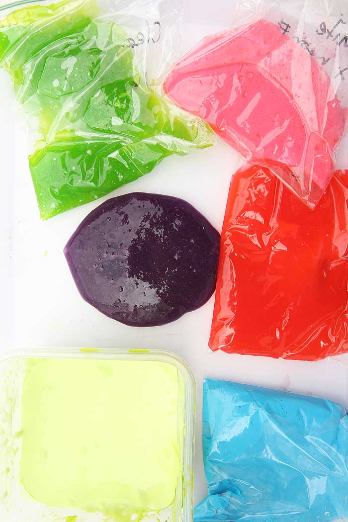 Learn how to make slime. Borax Free and neon style!