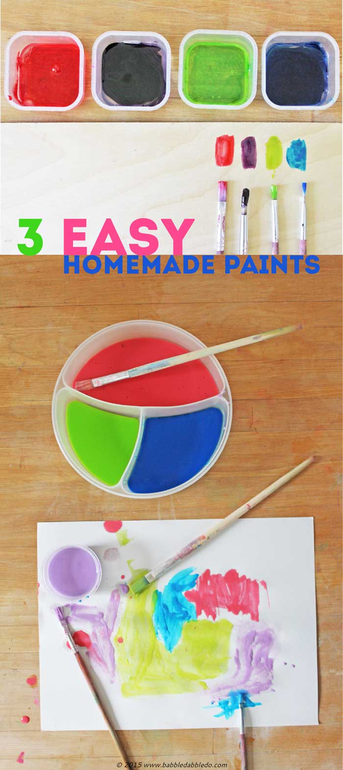 3 Easy Diy Storage Ideas For Small Kitchen: DIY Art Materials: 3 Easy Homemade Paints For Kids