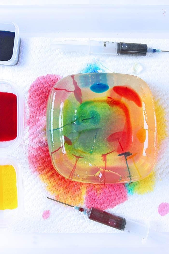Jello Art For Kids