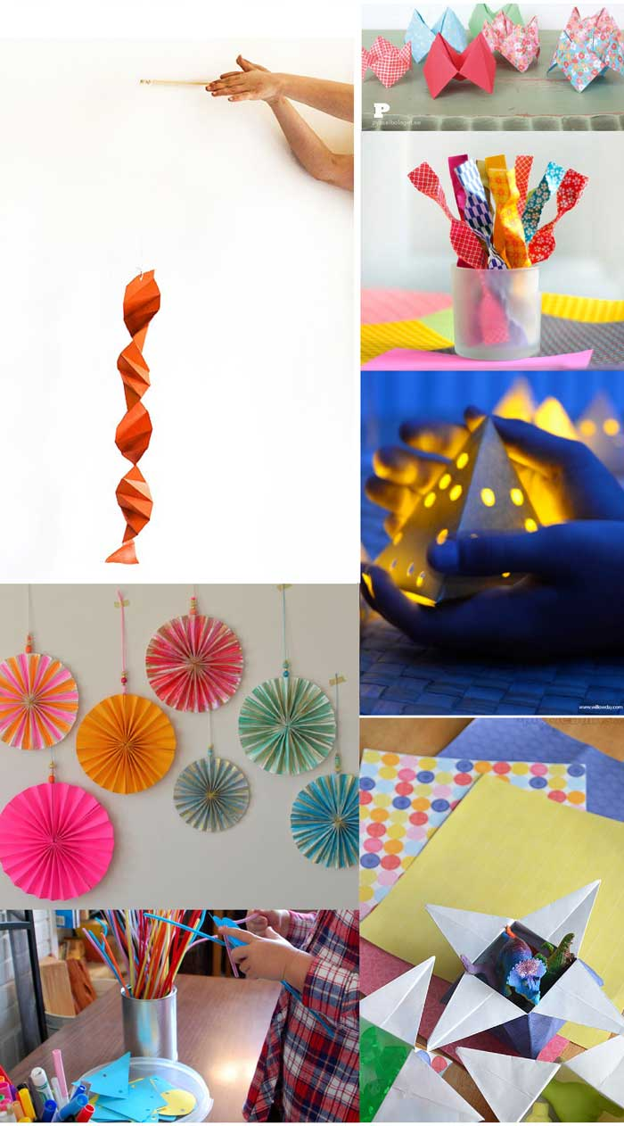 60+ Paper Crafts for kids and adults from the Rockin' Art Moms