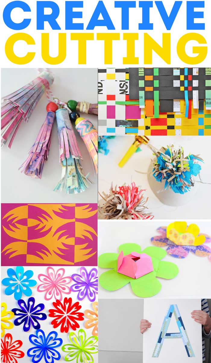 60+ Paper Crafts for kids and adults from the Rockin' Art Moms. Paper cutting projects.