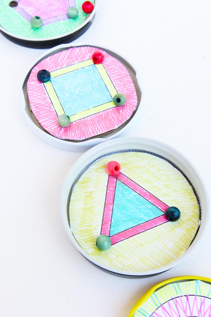 DIY Toy Idea: Recreate the classic balance bead game at home.