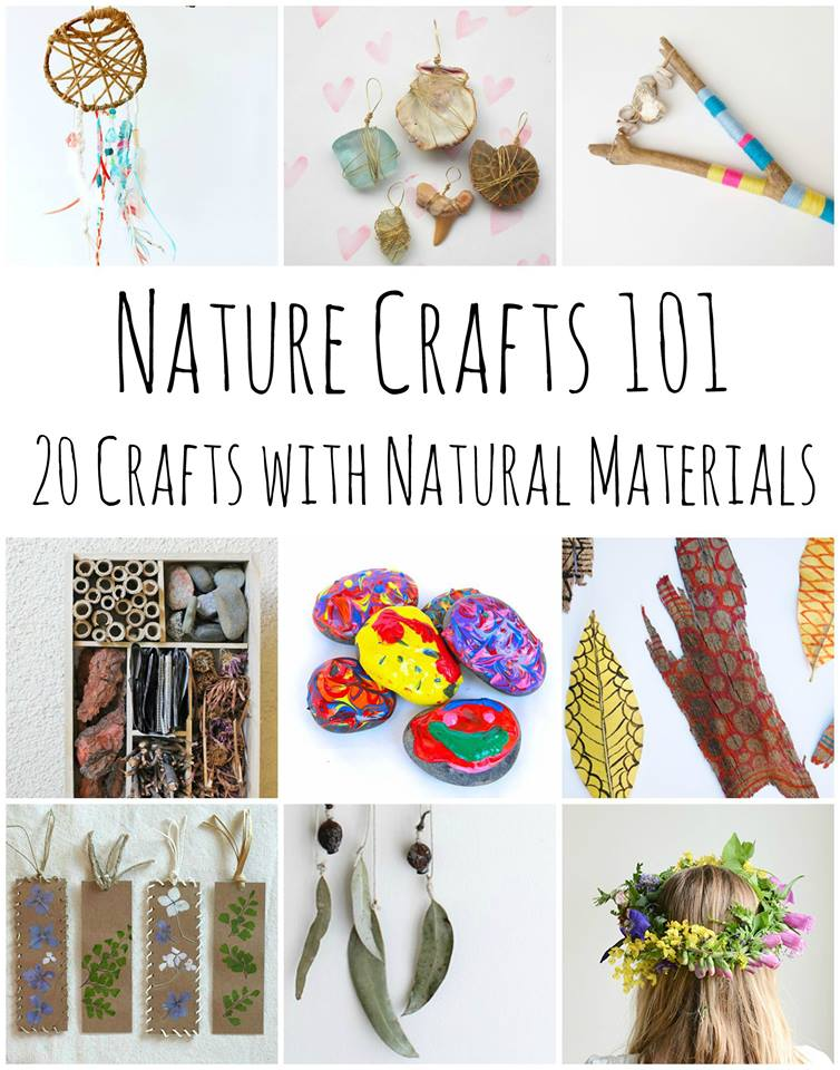 Nature Crafts 101: 20 Stunning Projects Using Items Found in Nature