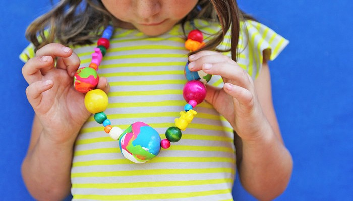 Polymer Clay Ideas: GIANT Clay Beads