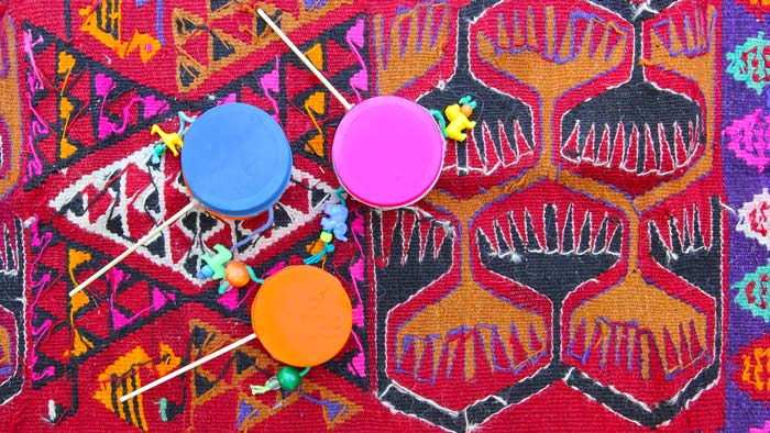 Homemade Instruments: DIY Rattle Drums