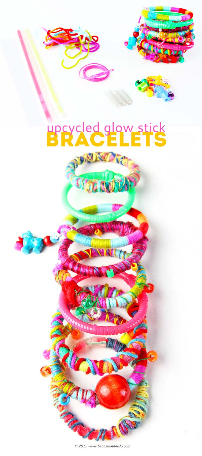 DIY-Bracelets-Upcycled-Glow-Sticks-BABBLE-DABBLE-DO--PIN2