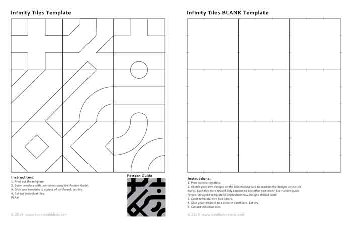 Math game idea infinity tiles babble dabble do for Algebra tile template
