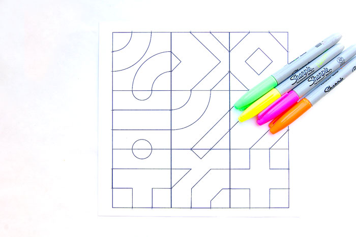 Math Game Idea: Infinity Tiles. No matter how you rotate them the design always connects! Download our pre-designed or blank template and make your own set.