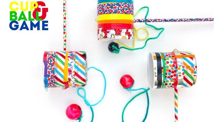 DIY Toy Idea: Cup & Ball Game