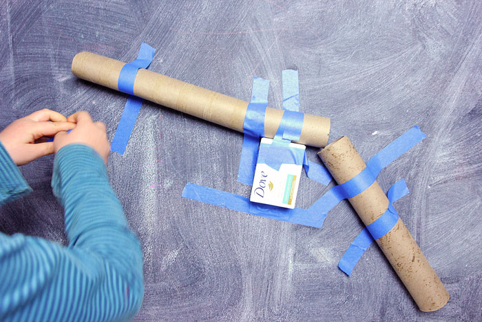 Learn how to make a DIY Marble Run from items in your recycling bin! Great engineering challenge for kids. Project from the new book The Curious Kid's Science Book.