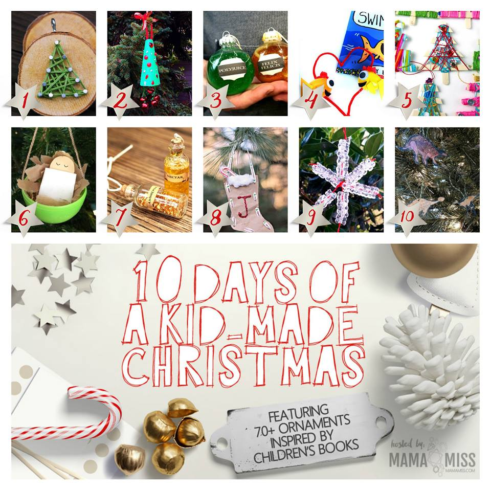 homemade christmas ornaments yarn trees babble dabble do