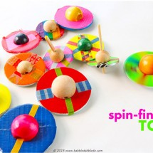 DIY Toy Idea: Spin-finite Tops