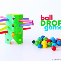 DIY Game for Kids: Ball Drop Game