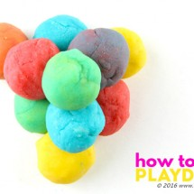 How to Make Playdough | Playdough Activities Guide
