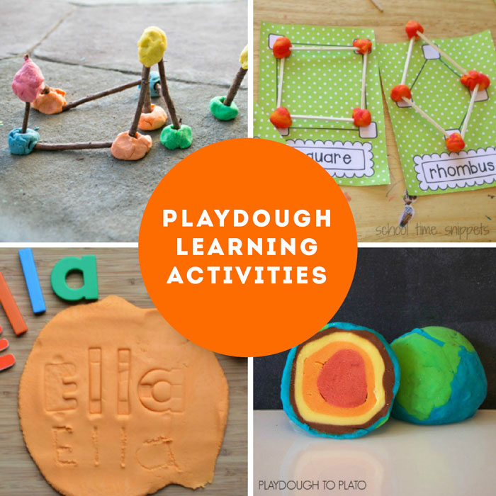 Learn how to make playdough at home with this easy cooked recipe. BONUS: Our playdough activities guide with more playdough recipes and over 50 ideas for using playdough for art, learning, holidays and more.