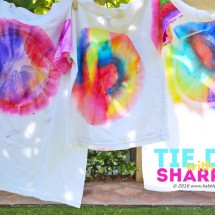 How to Do Sharpie Tie Dye