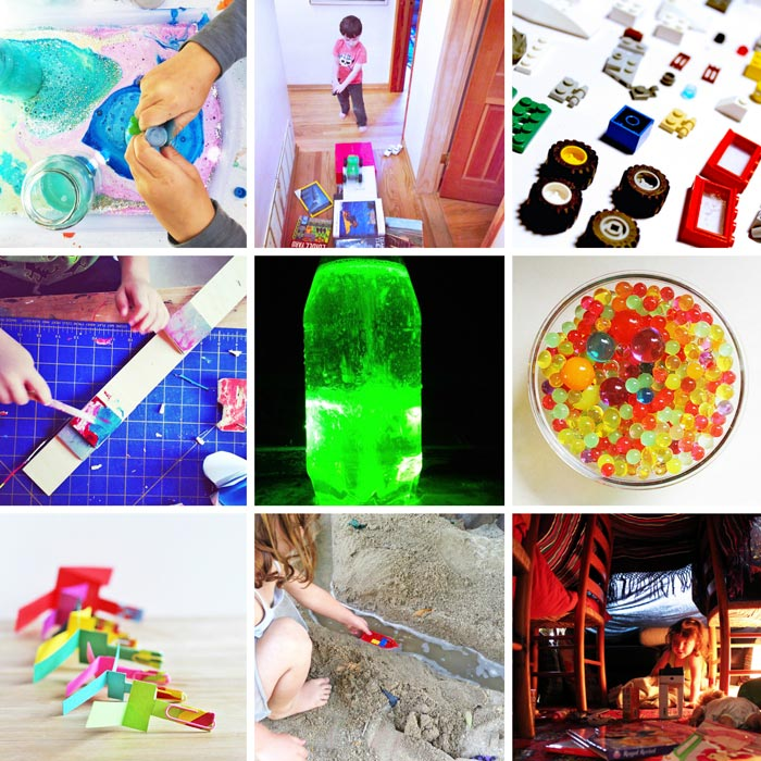 SCIENCE & ENGINEERING: 80 Easy Creative Projects for Kids including activities, art, crafts, science, engineering and toys! Projects perfect for kids ages 3-8.