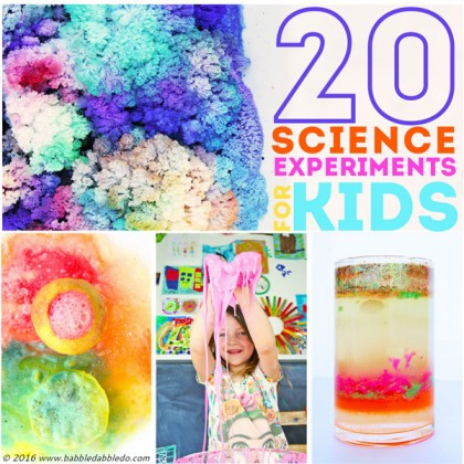 science fair experiments for kids Simple experiments and activities young kids can do for school or science fair projects.
