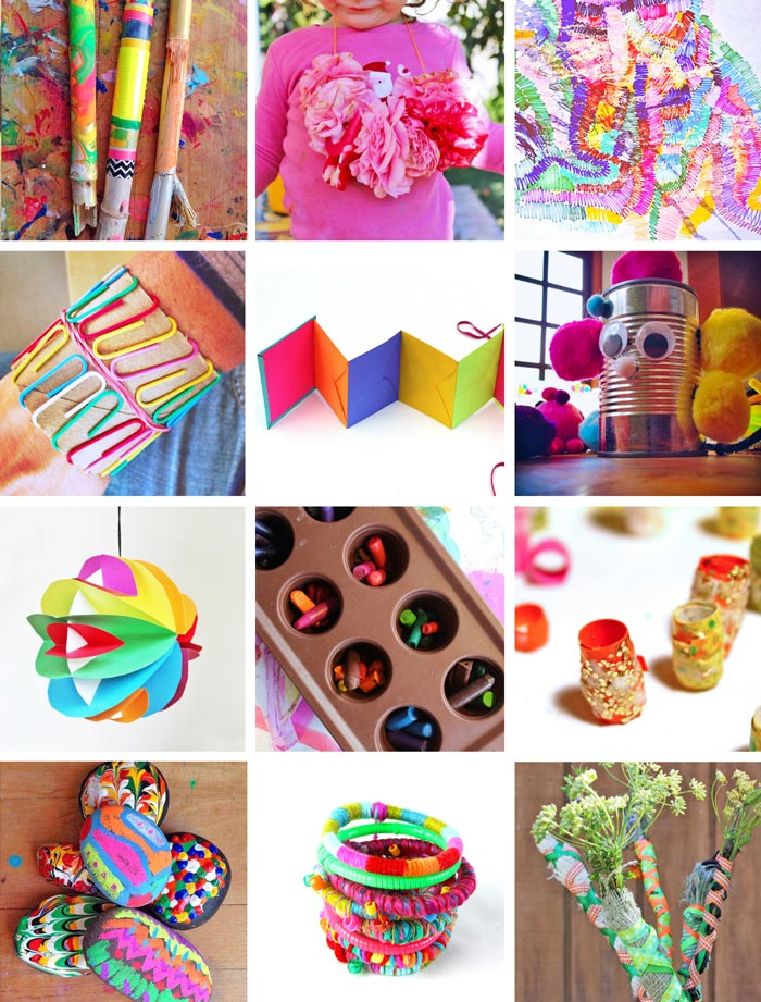 CRAFTS: 80 Easy Creative Projects for Kids including activities, art, crafts, science, engineering and toys! Projects perfect for kids ages 3-8.