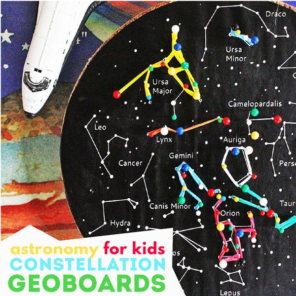 Kids' Astronomy Project: Constellation Geoboards - Babble ...